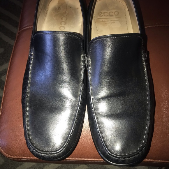 Ecco Classic Loafers, leather upper
